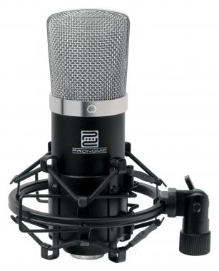 Pronomic CM-22 Large Diaphragm Microphone + Spider + Wind Shield