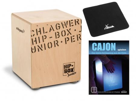 Schlagwerk CP401 Hip Box Junior Cajon Set inkl. Sitzpad und Schule