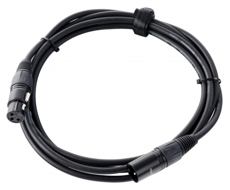 Pronomic stage XFXM-2.5 microphone cable XLR 2.5 m black