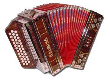 Beltuna Alpstar IIID luxe pro Harmonika 3-reihig, 3-chörig, Tipo Amano, Palisander