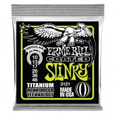 Ernie Ball 3121 Regular Slinky RPS Coated Titanium