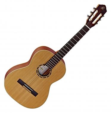 Ortega R121-7/8 Konzertgitarre Natur  - Retoure (Zustand: Wie neu, nur Verpackungsschaden)
