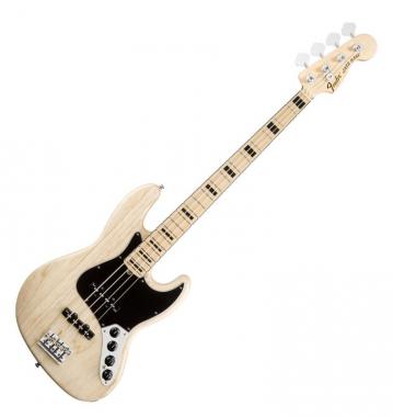 Fender American Deluxe Jazz Bass MN Natural  - Retoure (Zustand: sehr gut)