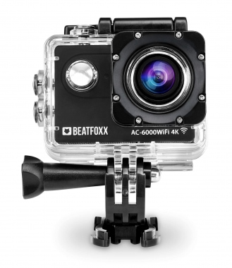 Beatfoxx AC-6000WiFi 4K Action Camera 12 MP HDMI SD USB