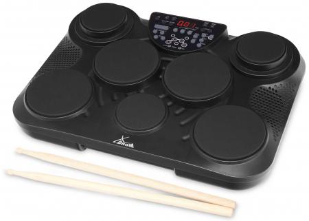 XDrum DD-200DG E-Drum Percussion Pad schwarz  - Retoure (Zustand: gut)