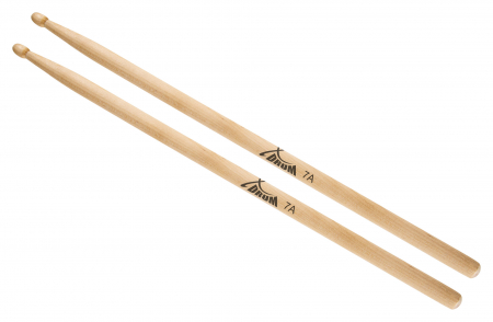 XDrum Drum Sticks 7A Wood Tip