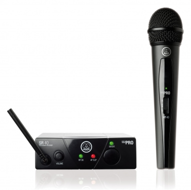 AKG WMS 40 Mini Vocal Handfunkmikrofon Set ISM2, 864,375 MHz