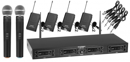 McGrey UHF-2V4I Quad set radio