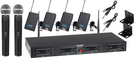 McGrey UHF-2V4I Quad Set microfoni radiotrasmittenti
