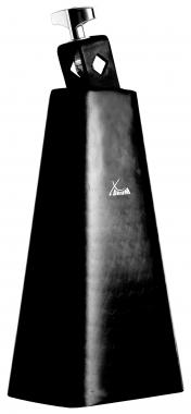 XDrum HCB-8 Cowbell, hammered and black laquered