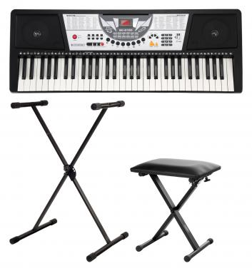 McGrey PK-6110 keyboard SET inb. stand en bank