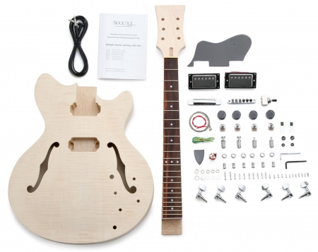Rocktile kit de construction de guitare électrique style HB