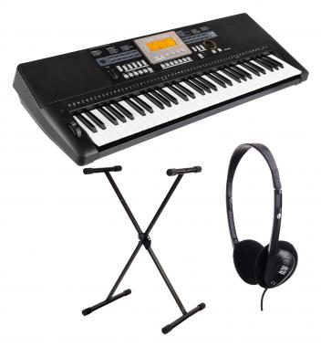 Classic Cantabile CPK-403 Keyboard  incl. Stand and Headphones
