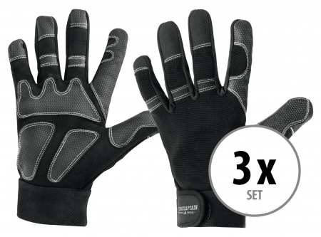 Set of 3 Stagecaptain Rigger Gloves M long