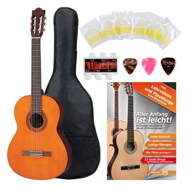 Yamaha C40 Guitarra clásica (Incluida funda)