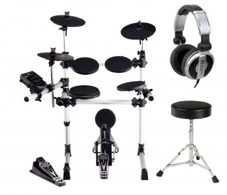 XDrum DD-430 Electronic Drum Set incl. Stool and Headphones