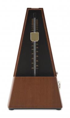 Classic Cantabile Metronom M02 mit Glocke Braun