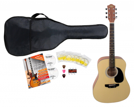 Classic Cantabile WS-3 Western Guitar Starter Set