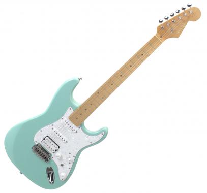 Rocktile Pro ST450-WK E-Gitarre Surfing Green  - Retoure (Zustand: sehr gut)