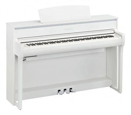 Yamaha CLP-675 WH Digitalpiano weiß matt