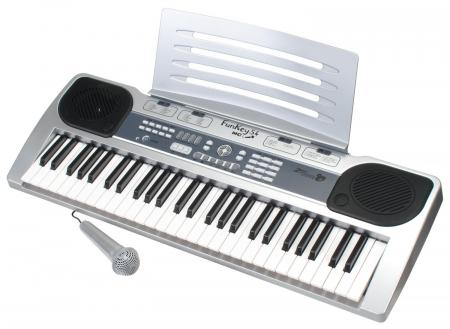 FunKey 54-MC Keyboard met notenstandaard en microfoon