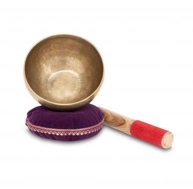 XDrum Omshanti Singing Bowl 13 cm Complete Set