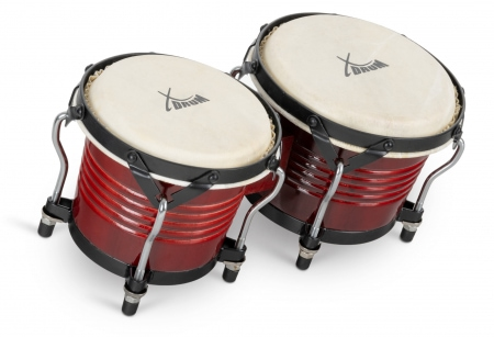 XDrum Bongo Pro Wine Red