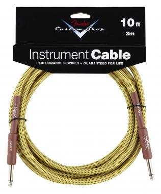 Fender Custom Shop Cable Tweed Straight 3m