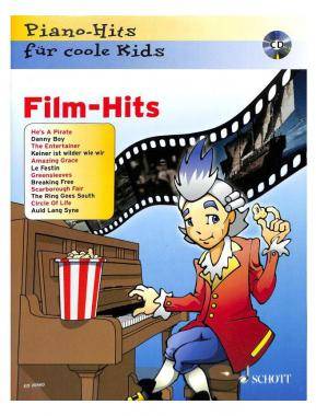 Piano-Hits für coole Kids – FILM HITS inkl. CD