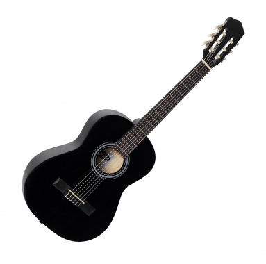 Calida Benita classical guitar 3/4 black