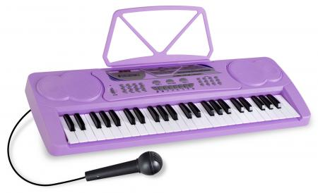 McGrey BK-4910VT Keyboard with 49 Keys and Partiton Holder Purple