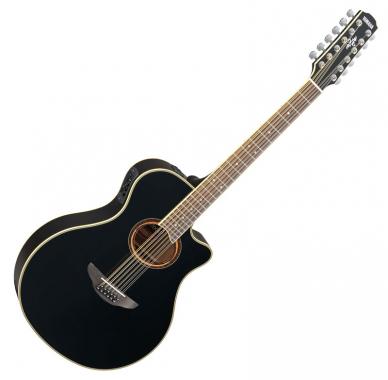 Yamaha APX 700 II-12 Westerngitarre, 12-saitig, Black