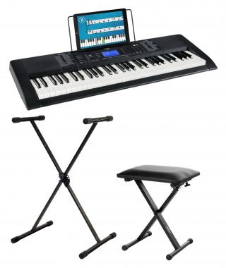 FunKey 61 Edition Pro Black SET incl. keyboard stand and bench