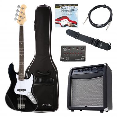 Rocktile Fatboy II Bass Starter Bundle Black