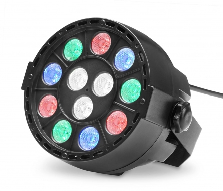 Showlite SPS-121 LED Smart Party Spot 12x 1W RGBW
