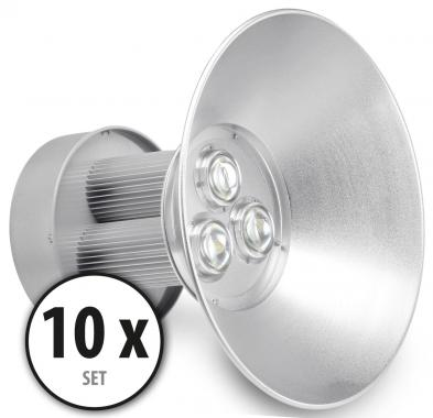 2x Showlite HBL-100 COB LED High Bay Hanging Spotlight 100W