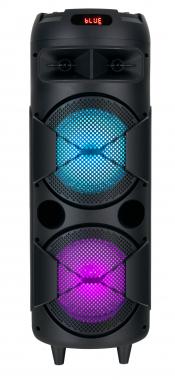 Beatfoxx PBS-835 Thundertube baffle Bluetooth portable disco avec fonction karaoké 60W