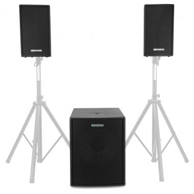 Pronomic XL-5D Actief-systeem, 800 Watt Soundconditioning actief