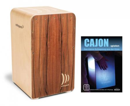 Schlagwerk CP609 Cajon Fineline Comfort Tineo SET inkl. Cajonschule