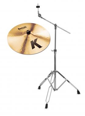 "Zildjian K 18"" Dark Crash Thin + Galgenbeckenständer SET"