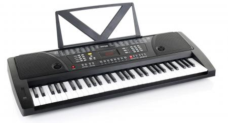 Kirstein Fun Keyboard 61 keys, including power supply and music stand