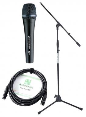 Sennheiser E 945 Mikrofon Set +Ständer+ Kabel