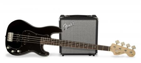 Fender Squier Affinity PJ Bass Pack BLK  - Retoure (Zustand: sehr gut)