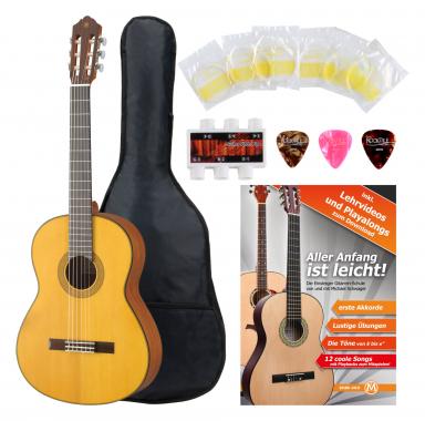 Yamaha CG162 S Konzertgitarre Fichte + Zubehörset