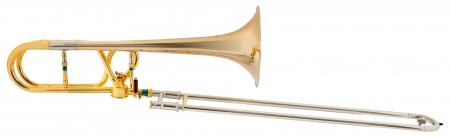 Lechgold QP-18GL trombone quart cuivre rosé