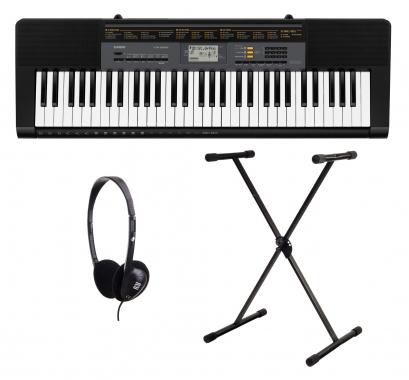 Casio CTK-2500 Keyboard Set mit Ständer und Kopfhörer
