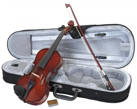 Classic Cantabile Complete Student Violin Set Size 1/2
