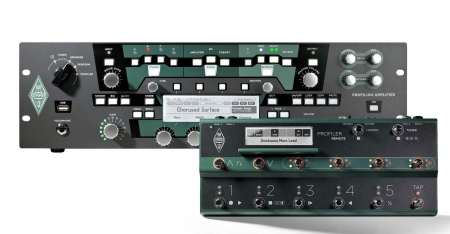 Kemper Profiling Amplifier Rack BK Remote Bundle
