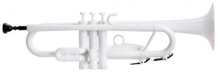 Classic Cantabile TROMBA Bb Plastic Trumpet white