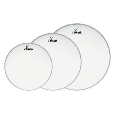 "XDrum Coated Drum Head Set 10"" 12"" 14 """
